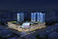 City shopping mall 075 3D Model