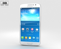 Samsung Galaxy Grand 2 White 3D Model