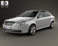 Buick Excelle 2013 3D Model