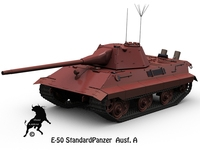 E-50 StandardPanzer Ausf. A 3D Model