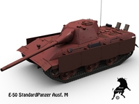 E-50 StandardPanzer  Ausf. M 3D Model