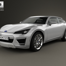 Subaru Cross Sport 2013 3D Model