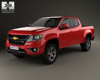 Chevrolet Colorado Double Cab 2014 3D Model