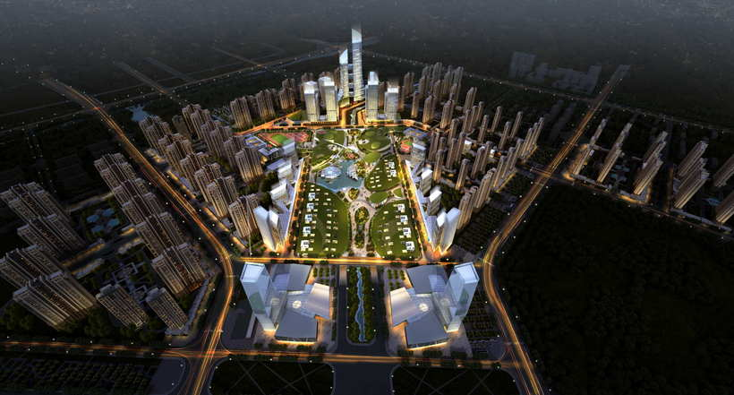 City shopping mall 093 3D Model