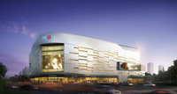 City shopping mall 096 3D Model