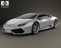 Lamborghini Huracan 2015 3D Model