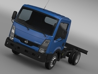 Nissan Cabstar Chassi 2013 3D Model