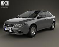 Mitsubishi Lancer Fortis 2013 3D Model