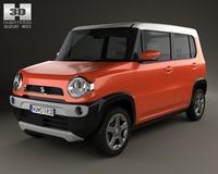 Suzuki Hustler 2013 3D Model