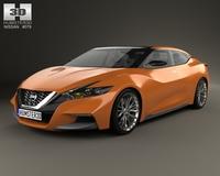 Nissan Sport Sedan 2013 3D Model