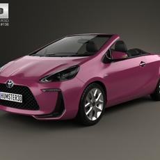 Toyota Aqua Air 2013 3D Model