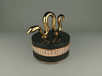 jewelry box snake Hangzhou 3D Model