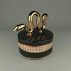 jewelry box snake Hangzhou 3D Model