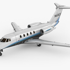 Cessna 650 Citation III / VI / VII 3D Model