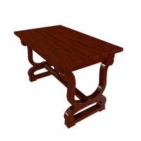 Antique Table 2 3D Model
