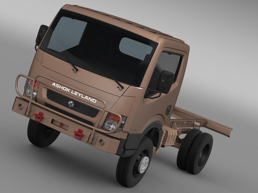 Ashok Leyland Garuda Chassi 2015 3D Model