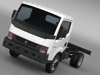 Ashok Leyland Partner Chassi 2015 3D Model