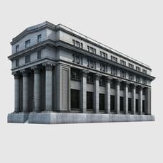 European Building 3D Model