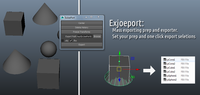 Free Exjoeport for Maya 1.0.1 (maya script)