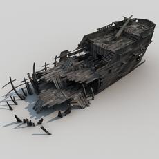 Shipwreck002 3D Model