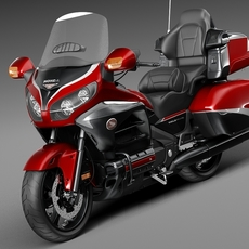 Honda Gold Wing 2015 3D Model