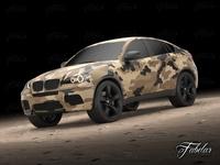 BMW X6 mod1 3D Model