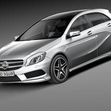 Mercedes-Benz A-Class 2015 3D Model