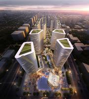 City Center Building 3D Model