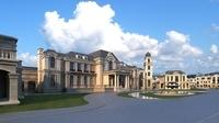 European classical castle 3D Model