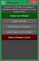 Free UVShader for Maya 1.0.0 (maya script)