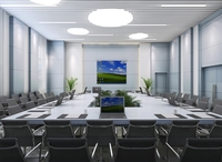 Internal meeting room 3D Model