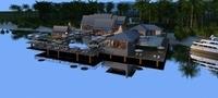 Island Villa 3D Model