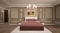 bedroom interior scene 3D Model