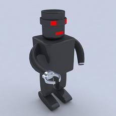 Robot Concept 3D Model