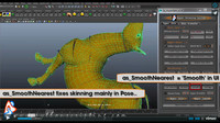 as_SmoothNearest (A magic feature from Hyper Skinning System) for Maya 2.0.0 (maya script)