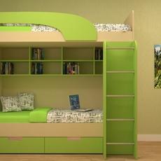 Interior child bedroom 3D Model