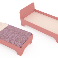 children's bed 3D Model