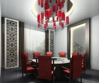 Modern Chinese Restaurant 3D Model