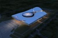 Modern Museum 3D Model