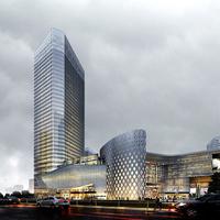 Modern shopping malls 3D Model