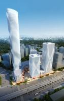 Round skyscraper 3D Model