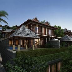 Sea View Villa 3D Model