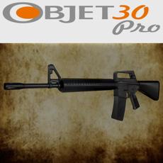 M-16 lowpoly 3D Model