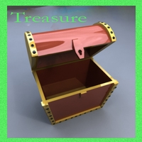 Trasure box 3D Model