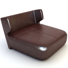 Etienne Baxter Italy Armless Chair 3D Model