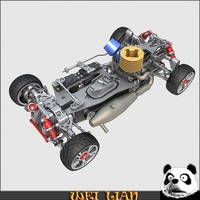 Racing car chassis 3D Model