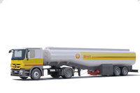 Mercedes Actros Fuel Truck 3D Model
