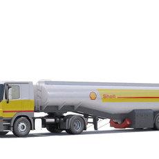 Mercedes Actros Fuel Truck 3D Model
