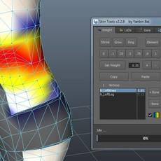 Skin Tools for Maya 2.7.8 (maya script)