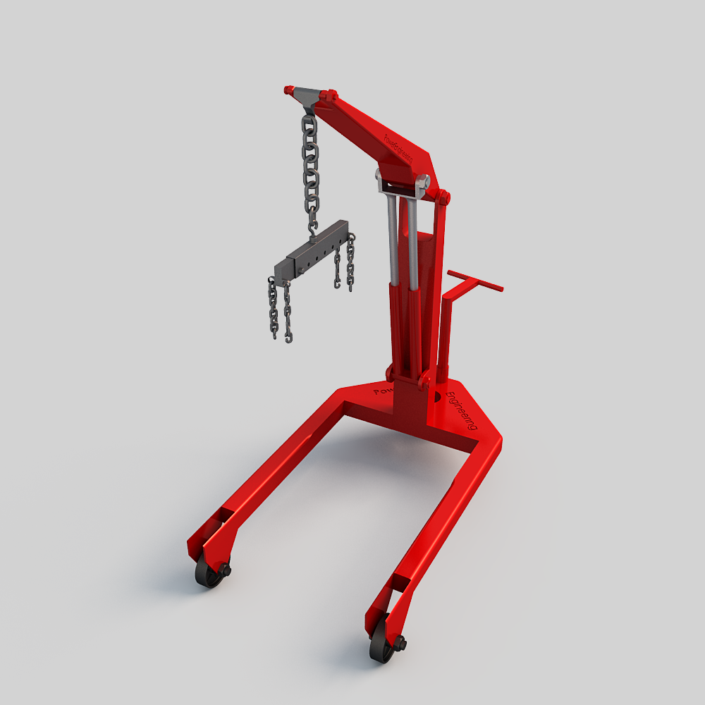 Engine crane 3D Model